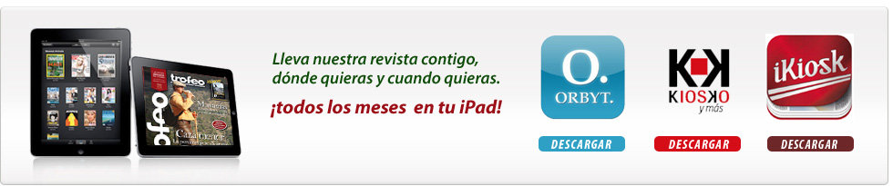 La revista en tu ipad, tableta Android o smartphone