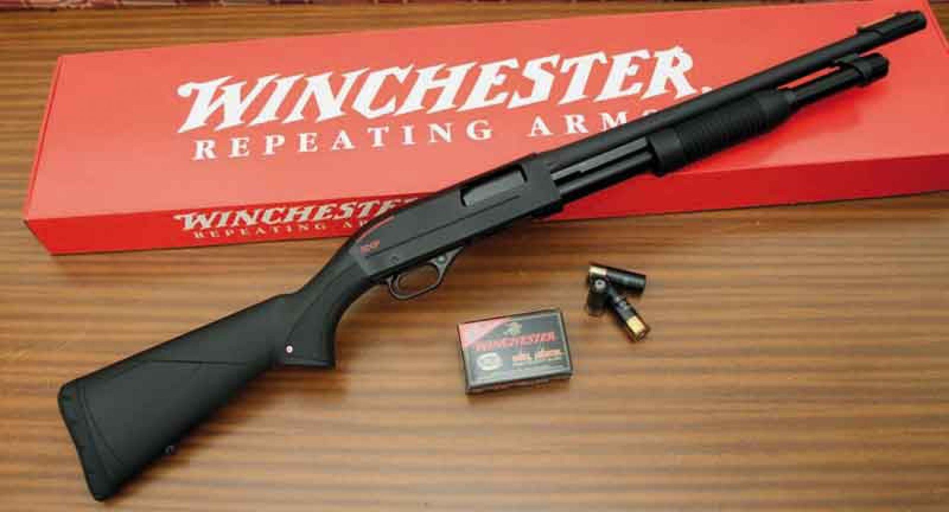 Prueba de la escopeta Winchester SXP Defender Rifled
