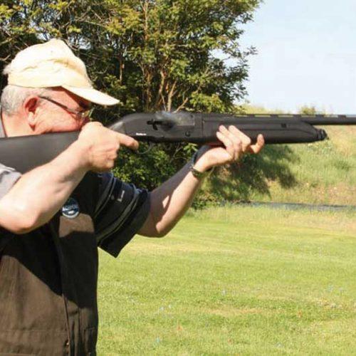 Prueba de la escopeta semiautomática Pardus SS