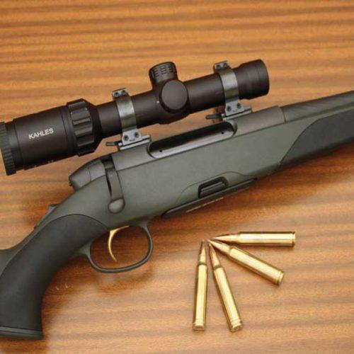 Prueba del rifle Mannlicher SM 12 SX, para rececho