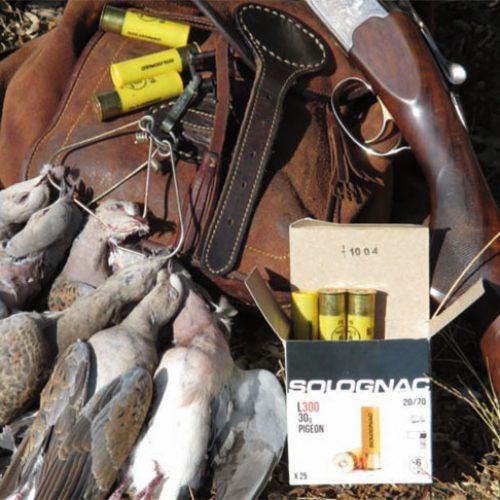 Prueba de los cartuchos Solognac 20-70 para tiros largos