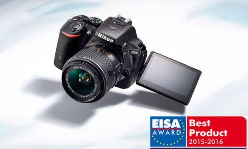 "La Nikon D5500 gana el premio ""EUROPEAN CONSUMER D-SLR CAMERA"""