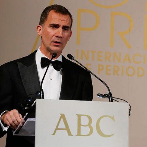 """El Rey en Los Premios """"Mariano de Cavia"""", """"Luca de Tena"""" y """"Mingote"""""""