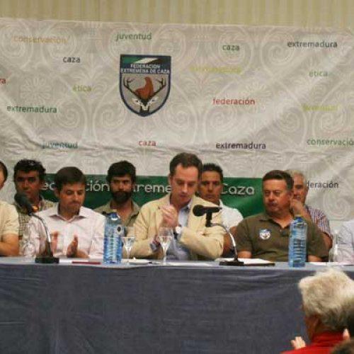 José María Gallardo, reelegido presidente de FEDEXCAZA
