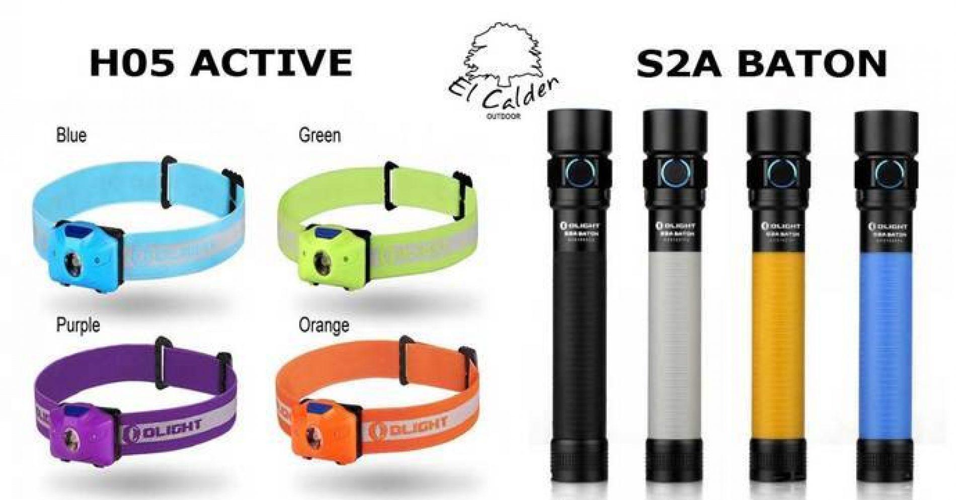 Olight lanza dos nuevas linternas la H05 Active y la S2A