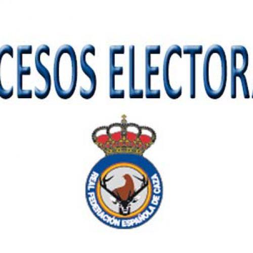 La Real Federación Española de Caza convoca elecciones