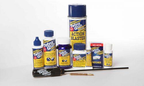 Productos para el mantenimiento de las armas Tetra Gun Care