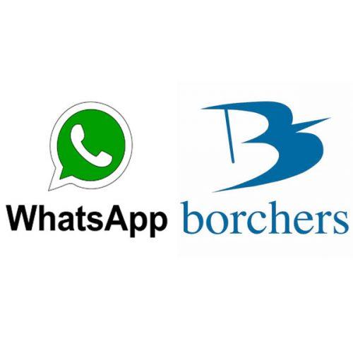 Borchers habilita un canal de WhatsApp