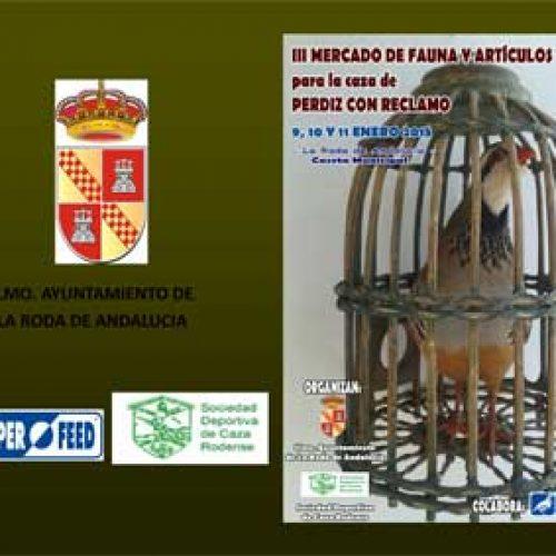 III Mercado de Fauna y Artículos para el reclamo