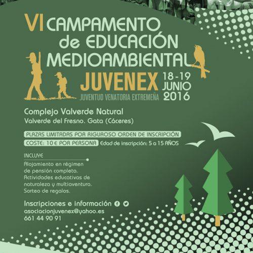 Nueva edición Campamento de Educación Medioambiental Juvenex 2016