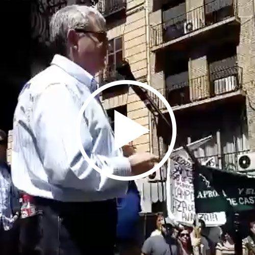 Discurso de Juan de Dios García, presidente de la Federación de Caza de CLM