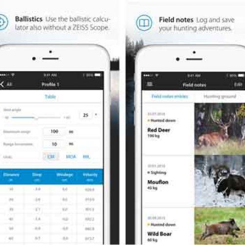Zeiss Hunting, la App gratuita de la mejor marca de óptica deportiva