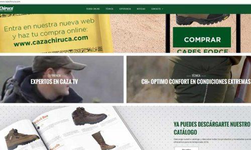 Cazachiruca.com la nueva web de Chiruca