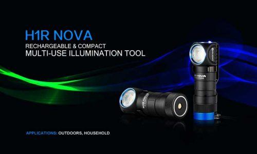 Nueva linterna H1R Nova de Olight ¡ Tu eliges cómo!