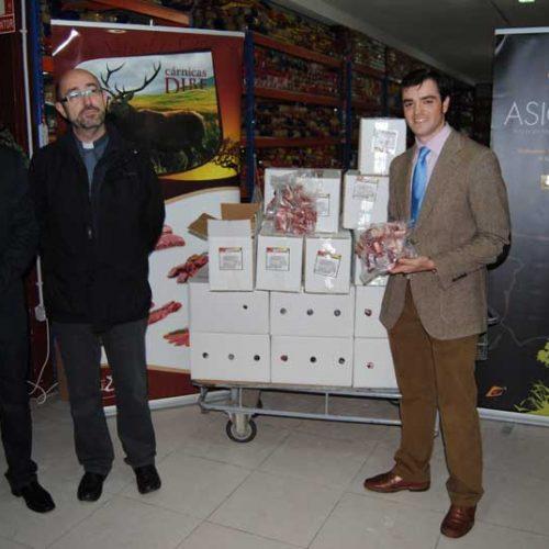 ASICCAZA dona carne a entidades benéficas en varios puntos de España