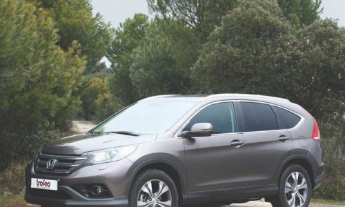 Probamos el Honda CR-V 2.2 i-DTEC 4X4 Luxury