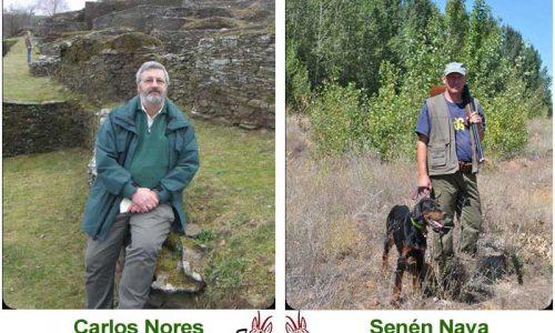 Carlos Nores y Senén Nava en las Jornadas Técnicas de AsturCaza 2017