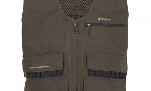 Chiruca lanza un chaleco de caza con doble bolsillo de capacidad extra