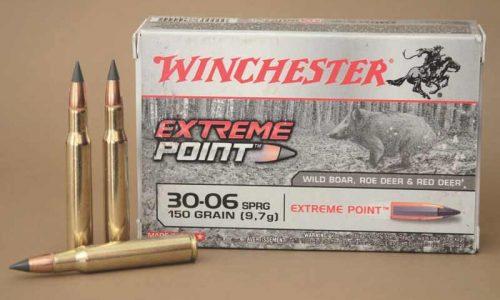 Prueba de las balas Winchester Extreme Point