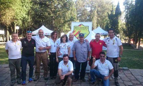 Juvenex presente en el I Encuentro de becaderos de Cataluña