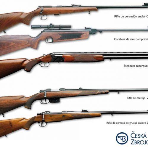 Los rifles más populares de Ceská zbrojovka