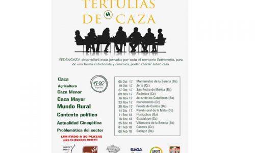 Las Tertulias Cinegéticas de FEDEXCAZA llegarán a 13 localidades