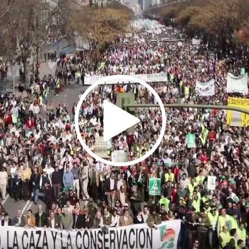 Manifestación en defensa del Medio Rural 30 Septiembre en Córdoba