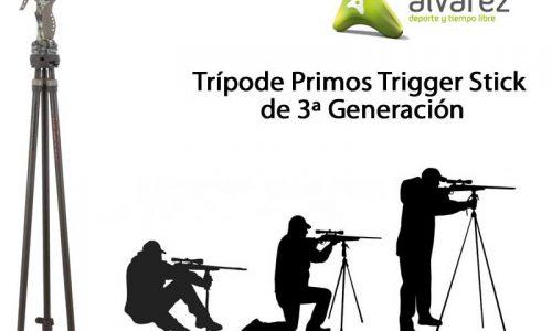 Armería Álvarez presenta la Tercera Generación del Trípode Primos Trigger Stick