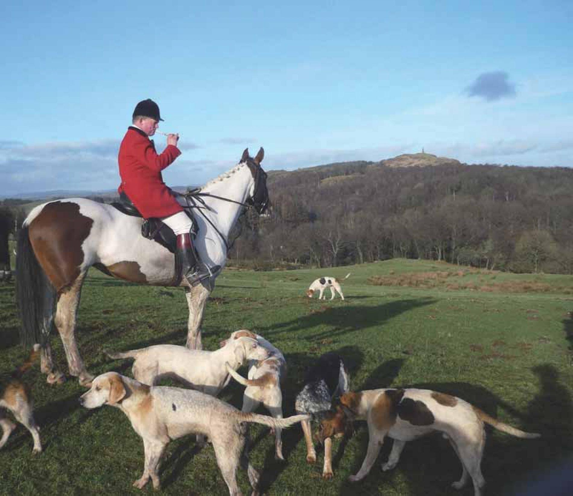 Fin de semana de caza y campo en Escocia