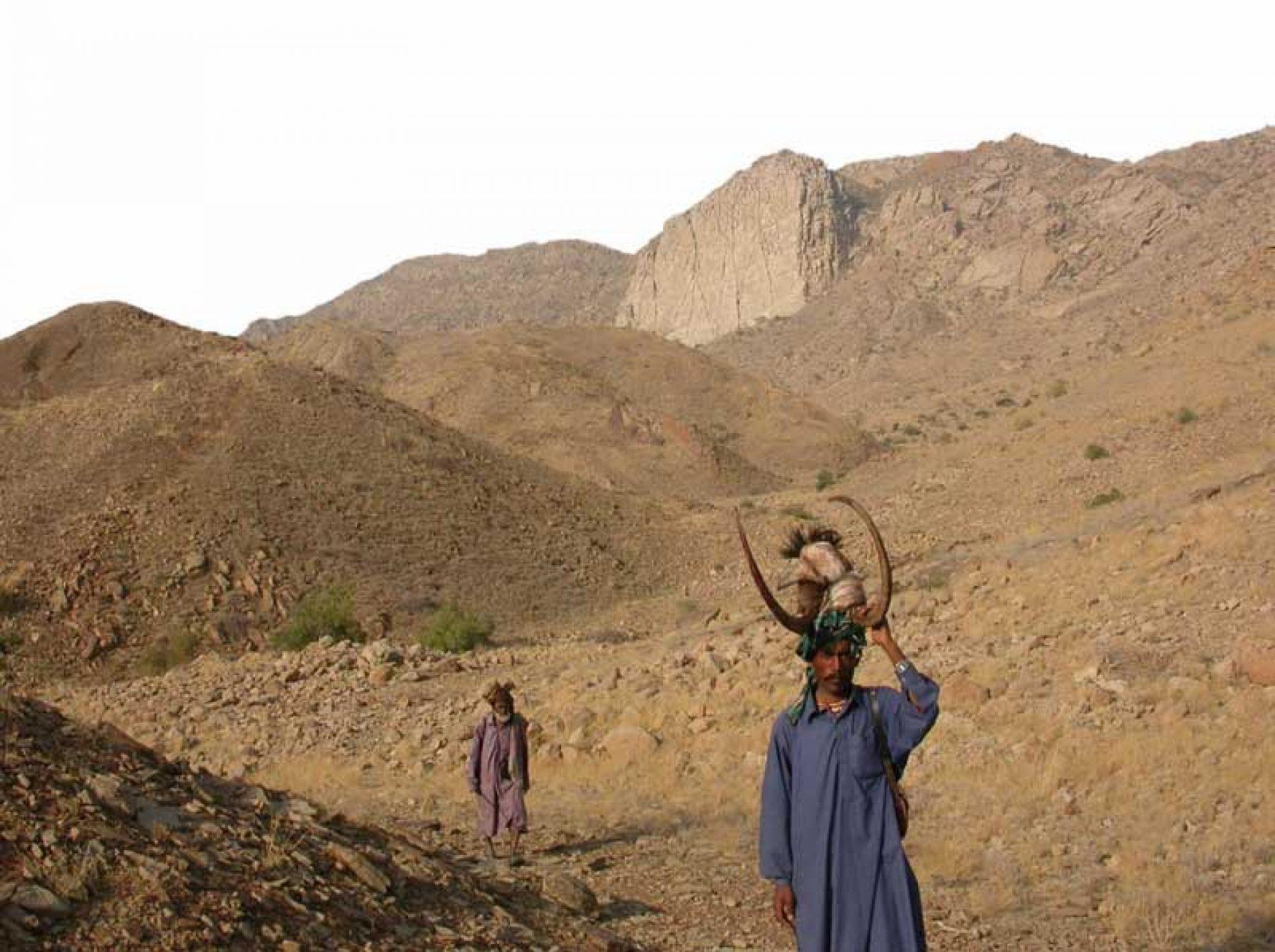 Aventura en las montañas de Baluchistán