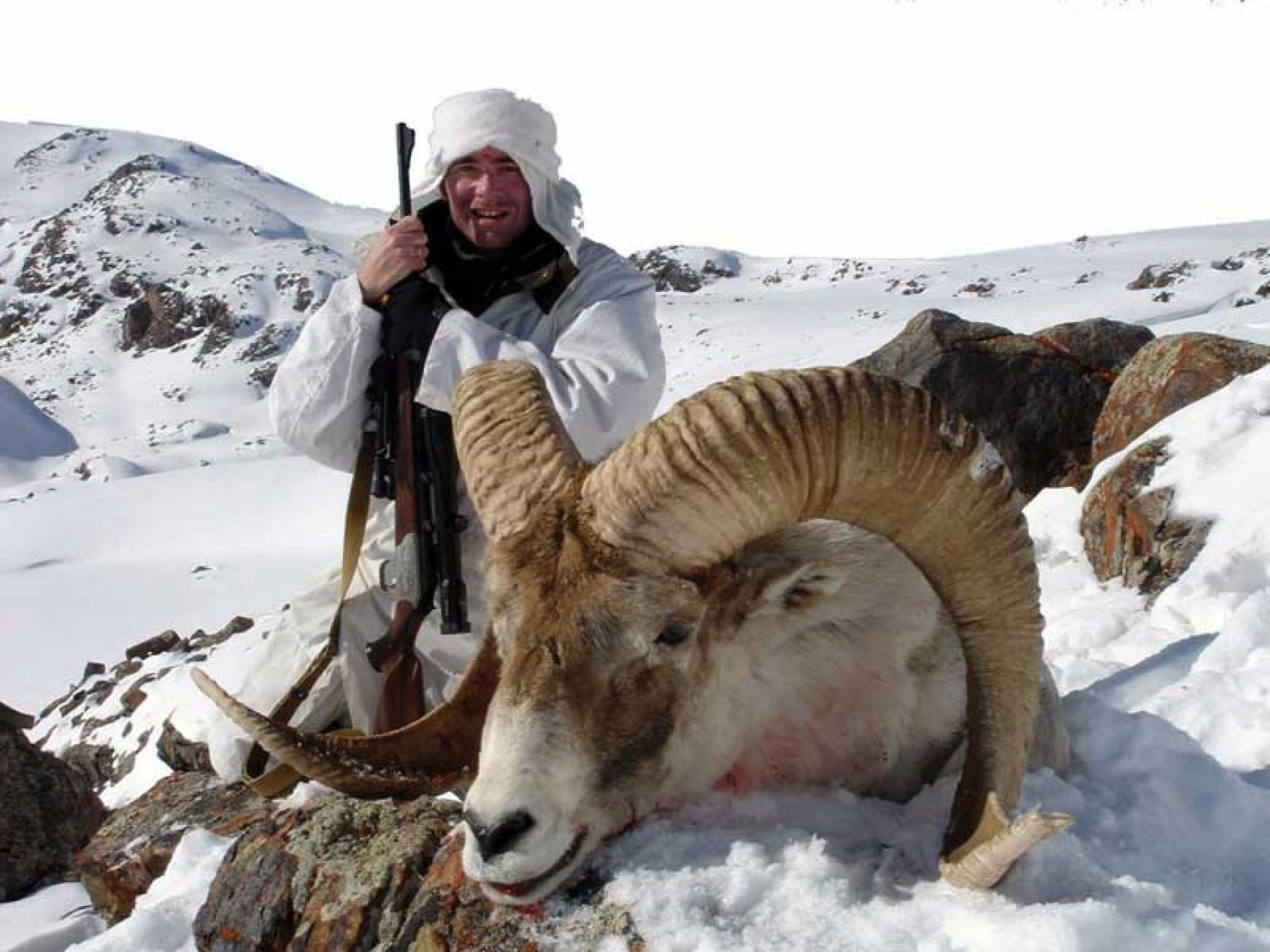 De rececho en Kirguizia tras los pasos del Marco Polo