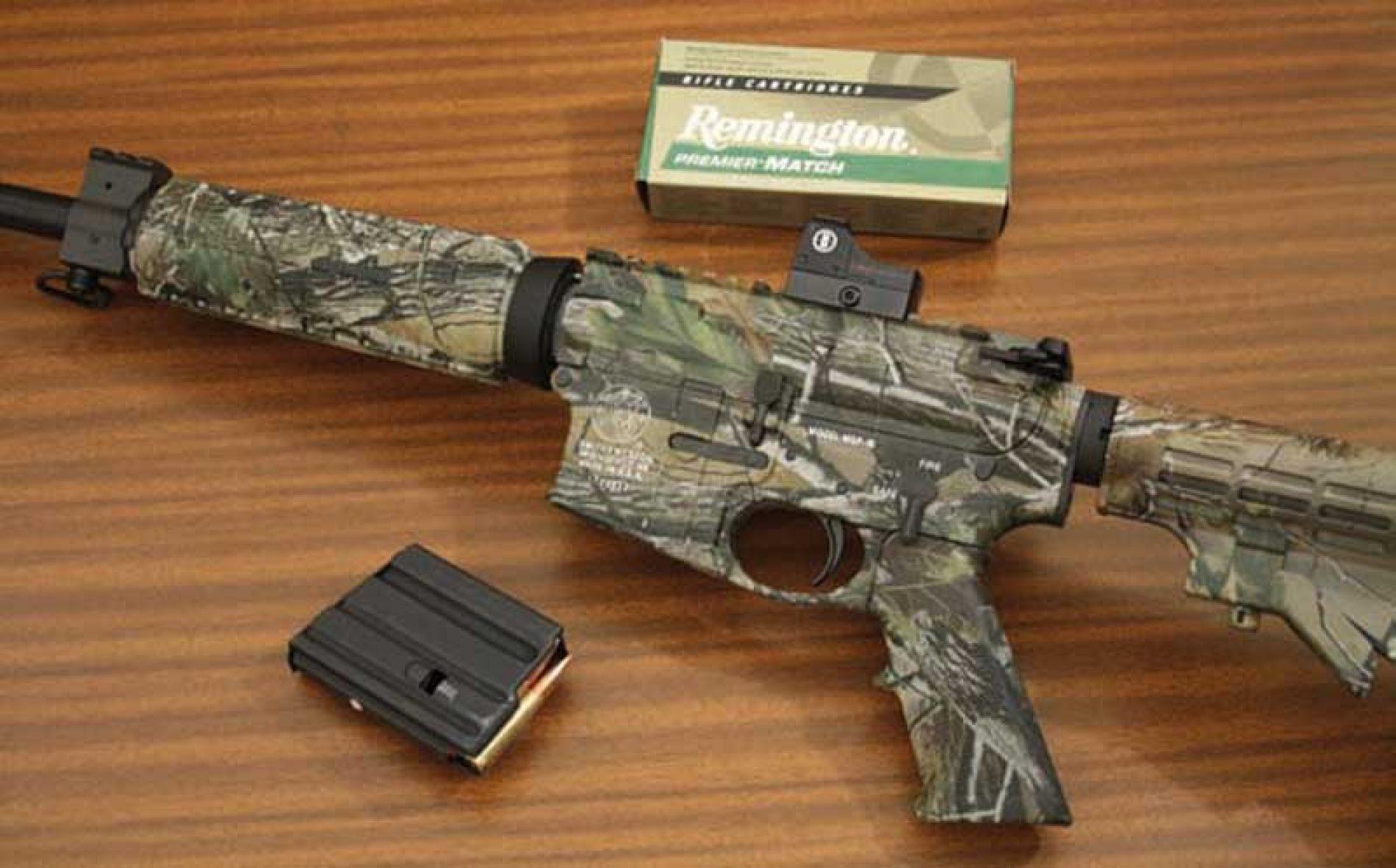 Prueba del rifle AR Smith & Wesson M&P 15 para tiro y ¿caza?