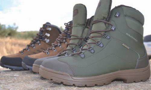 Botas Solognac Land 100 Warm y Supertrack 500 Imper