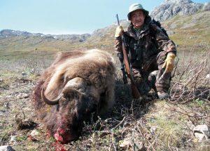 Caza-mayor-reportajes-internacional-caza-de-buey- almizclero-en-Canadá-13