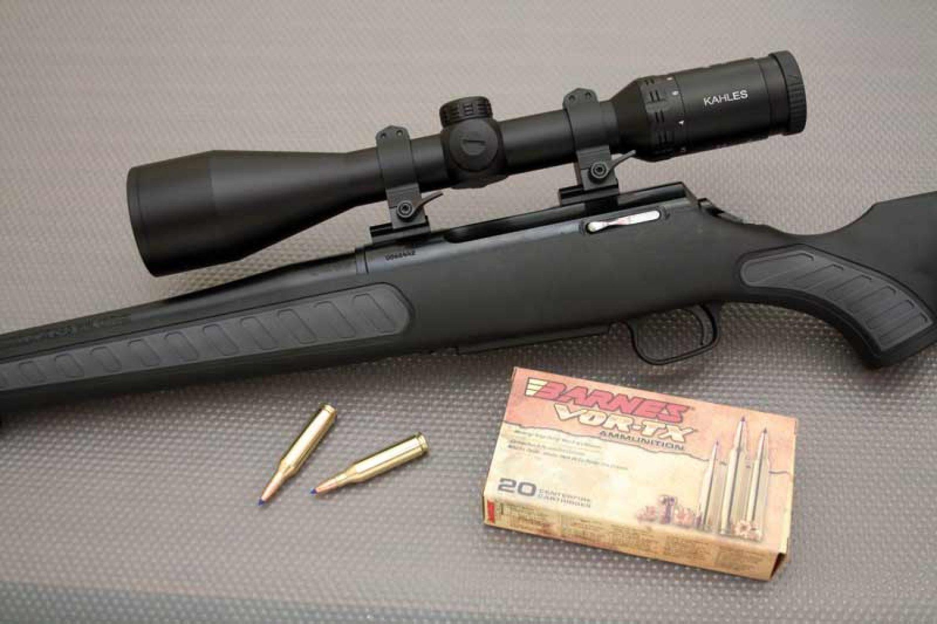 Rifle Thompson Venture 243 Win. y mira Kahles, para rececho de corzo