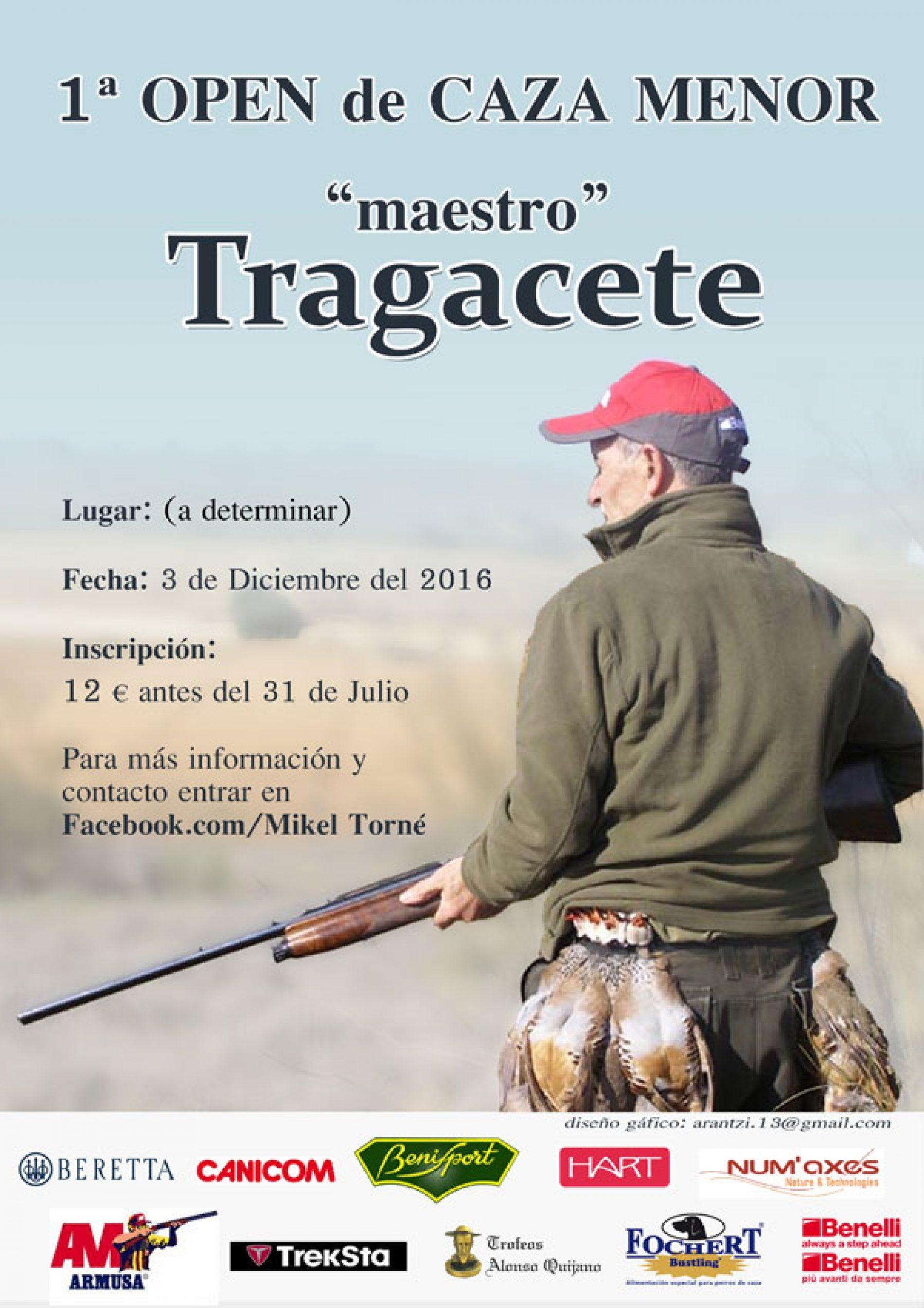 "1º Open de Caza Menor ""maestro"" Tragacete"