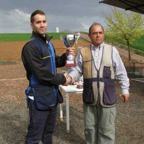 Cristobal Hervás, Campeón Provincial De Recorridos De Caza Y Compak Sporting