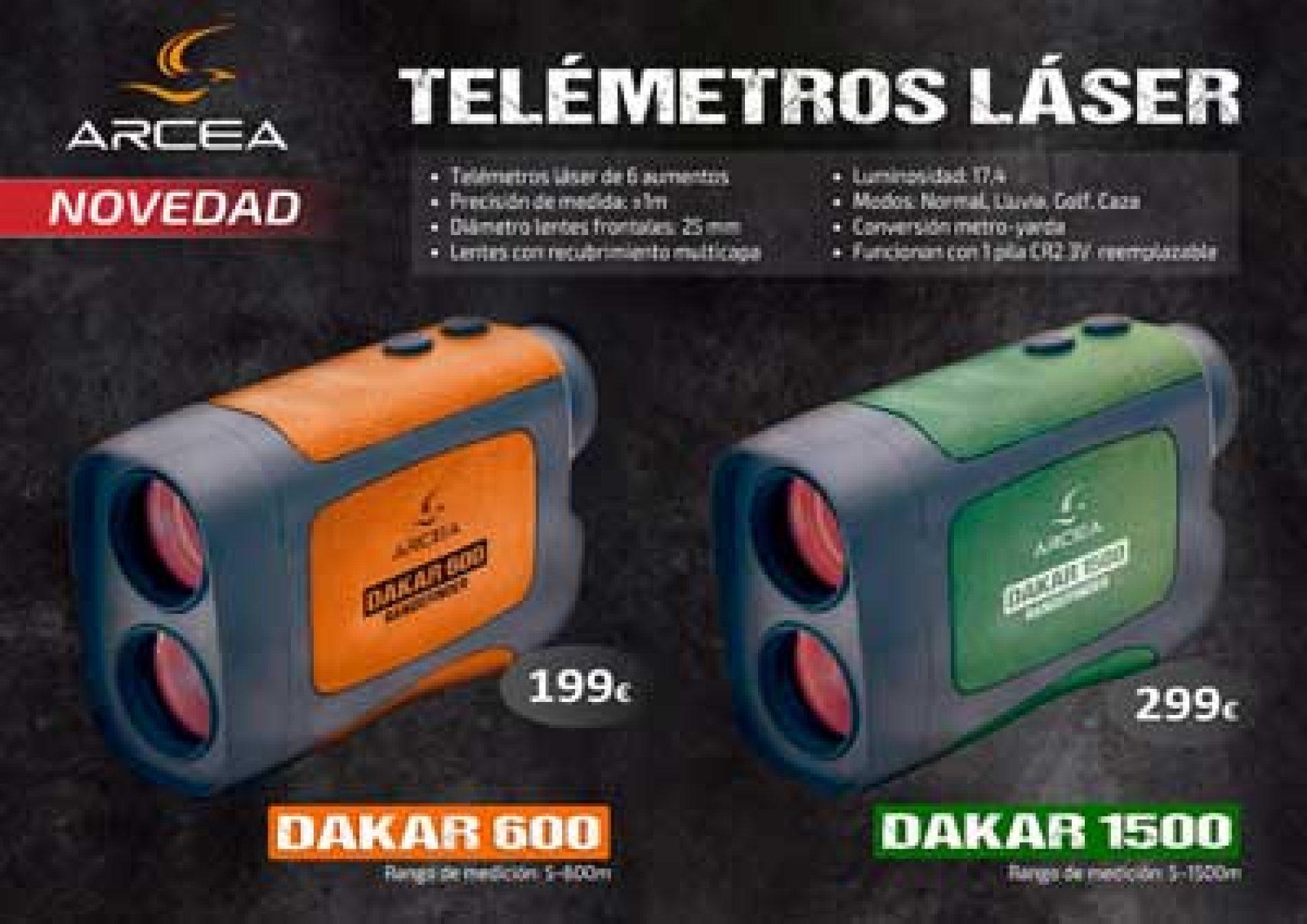 ARCEA distribuye Dos nuevos Telémetros Laser