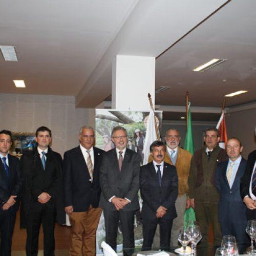 Firmado el convenio hispano-lusitano en defensa de la caza
