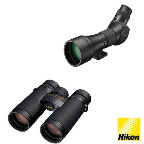 Nikon presenta dos nuevos prismáticos y telescopios