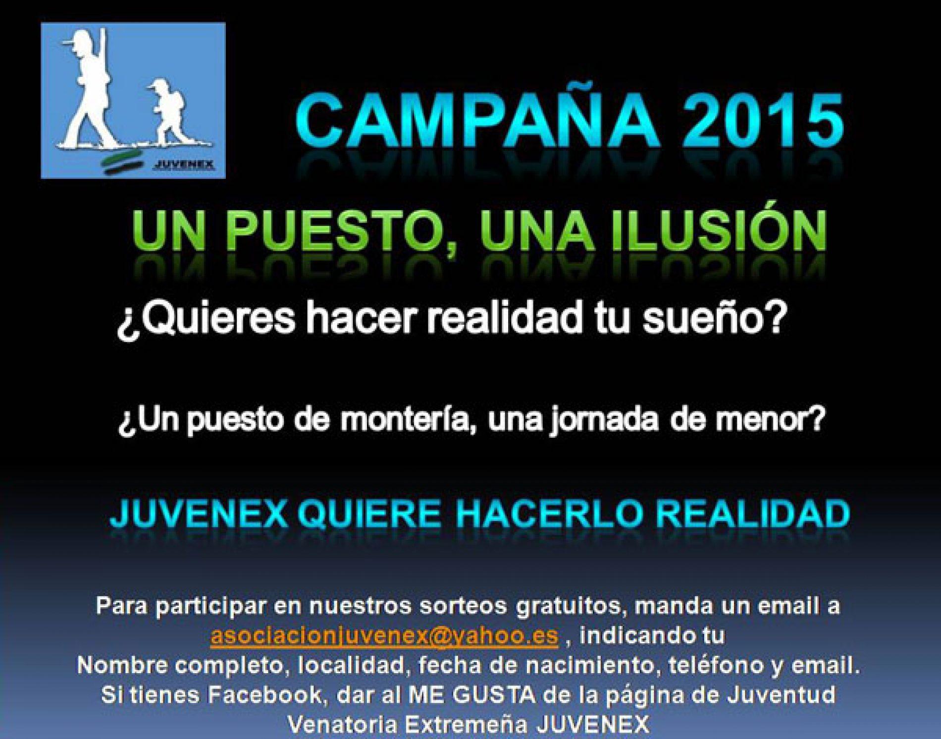 """Comienza la campaña """"Un puesto, una ilusión"""" de JUVENEX"""