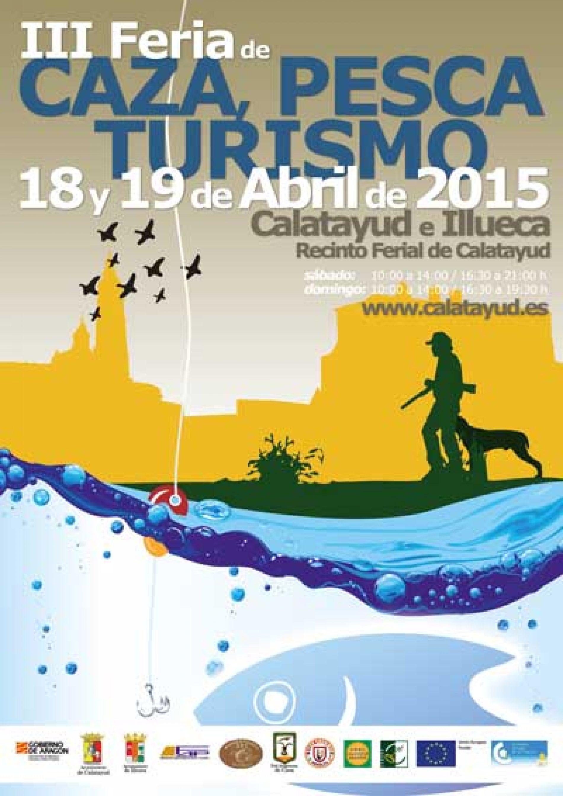 Calatayud acoge la Feria de Caza, Pesca y Turismo el 18 y 19 de abril