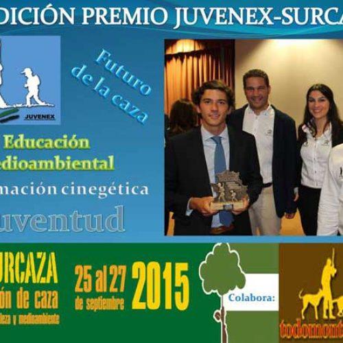 Convocada la II Edición del premio JUVENEX-SURCAZA 2015