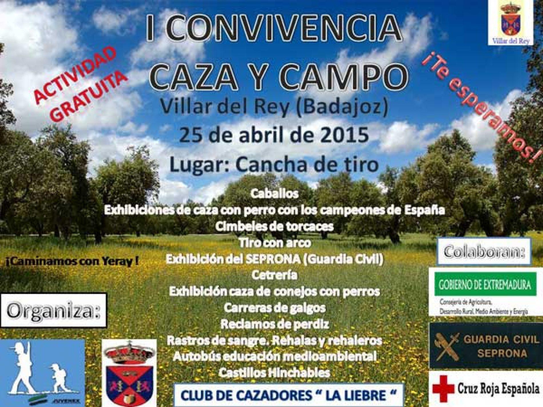 I Convivencia Juvenex Caza Y Campo. Villar Del Rey 2015