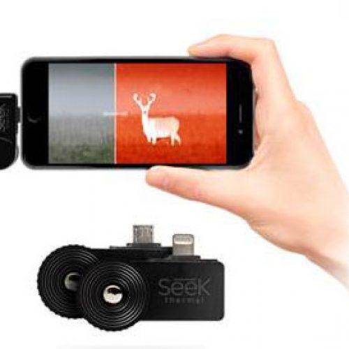La cámara SEEK Thermal identifica lo invisible