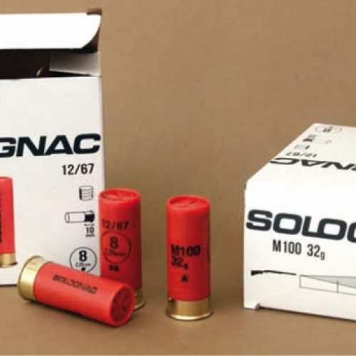 Prueba de cartuchos Solognac M 100 32 g, cal. 12-67 mm