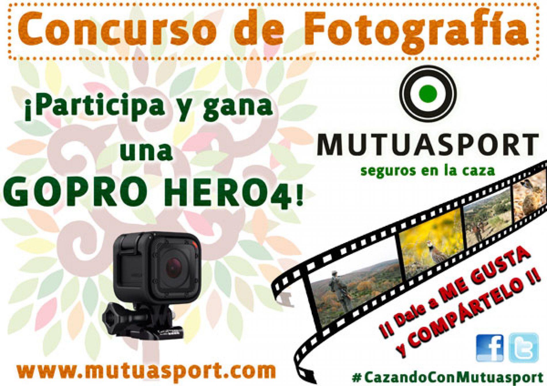 Mutuasport convoca el concurso de fotografía #CazandoConMutuasport