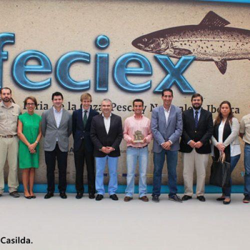 Jaime Valladolid, redactor jefe de Trofeo Caza finalista del premio JUVENEX-FECIEX