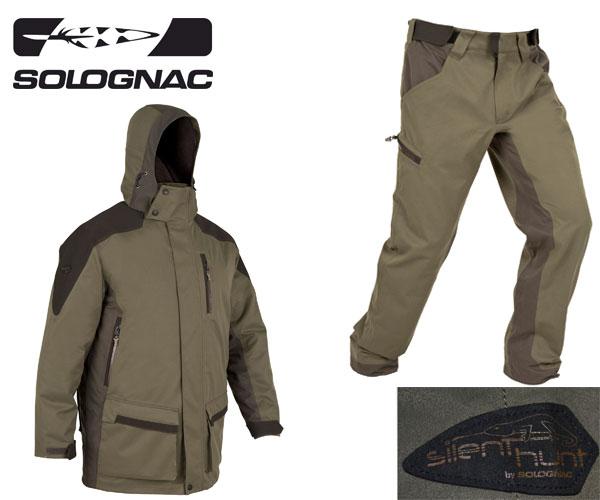 d486d275a2c8f Parka y pantalón Sibir 500 de Solognac - Trofeo caza