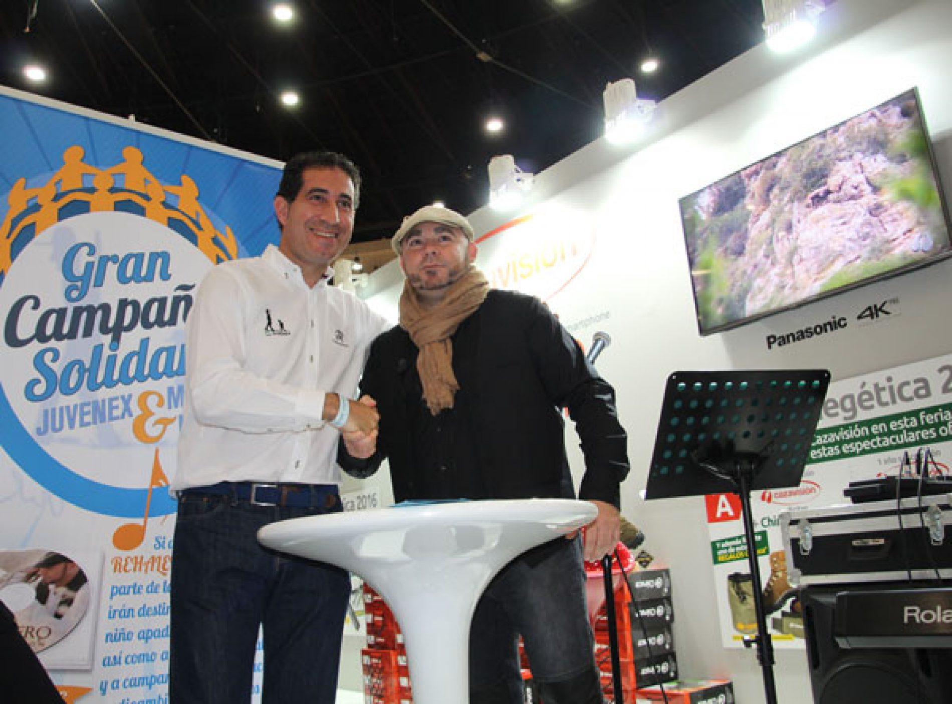 Campaña solidaria: Juvenex & Manuel Picón